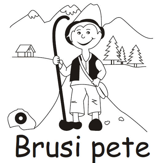 Planinska skupina »Brusi pete«